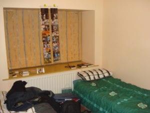 Meu quarto em Dublin, IRlanda