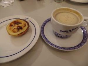 Café e Pastel de Belém, em Lisboa, Portugal