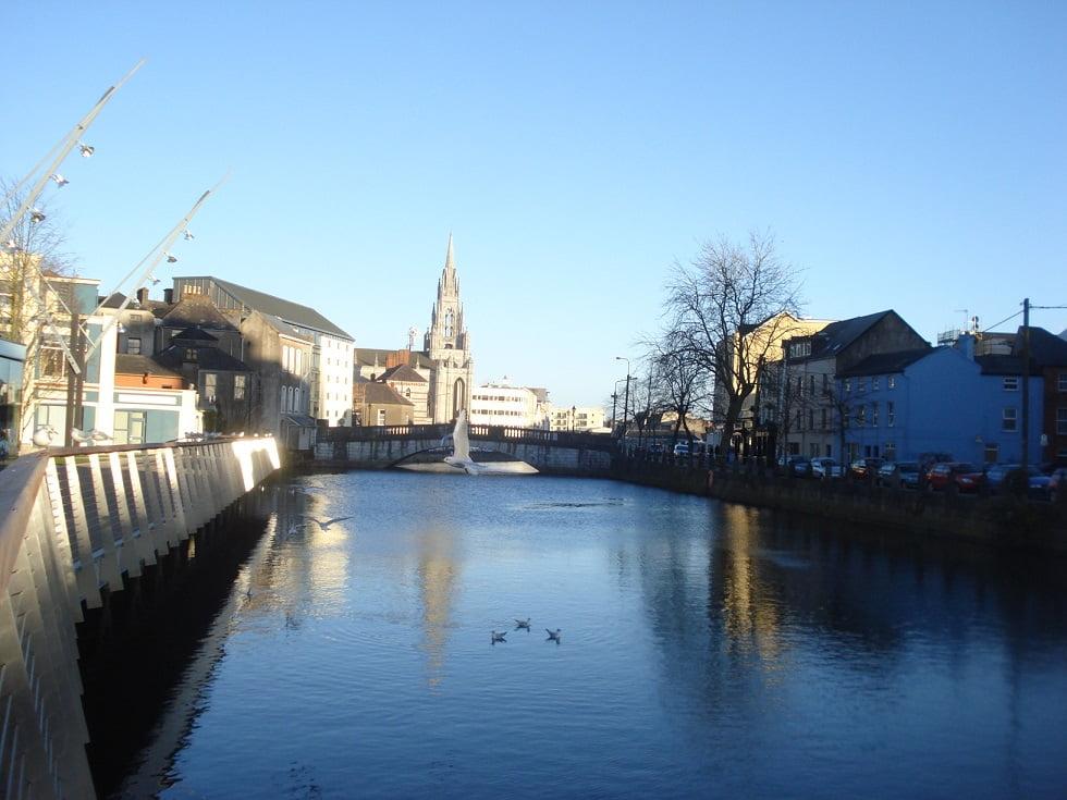 Rio Lee em Cork, Irlanda