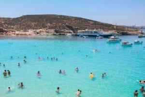 Praia em Malta, Foto - pexels
