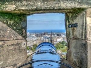 Vista de Edimburgo, Escócia