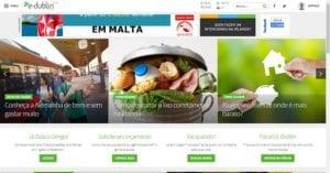 Print Sites e Blogs de Intercâmbio - E-dublin