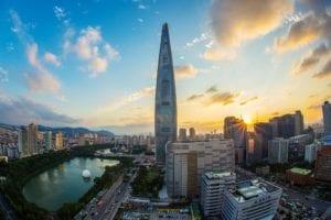 Foto panoramica de Seoul, Coréia do Sul - Foto Pexels