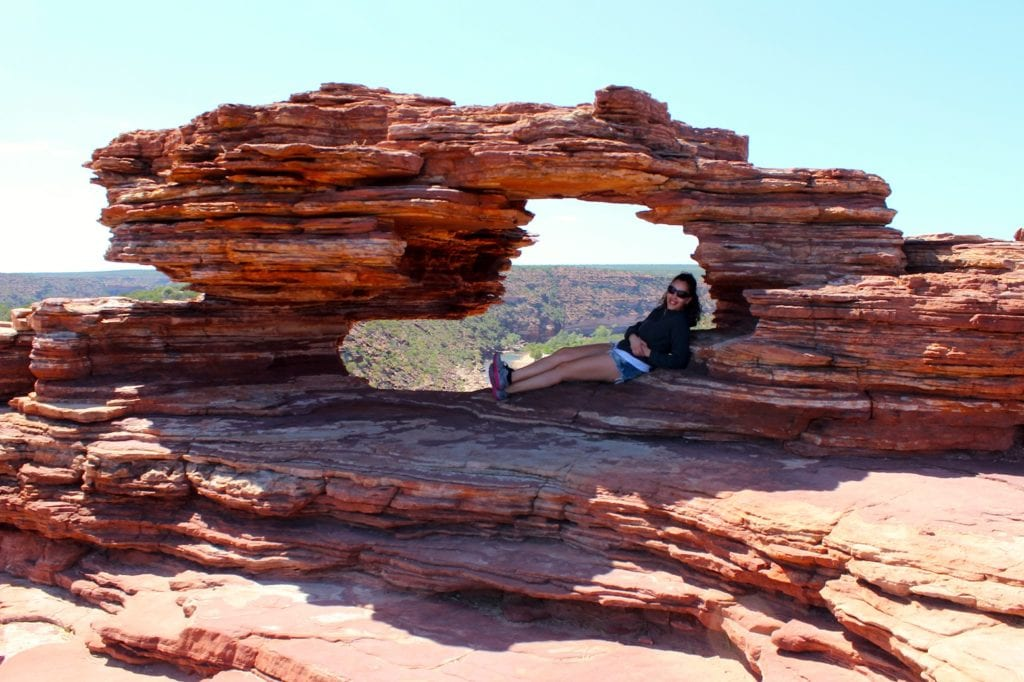 Kalbarri Nature Window, Austrália - Foto Carol Saldanha