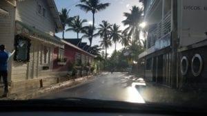 Centro de Las Terrenas, em Samana - República Dominicana