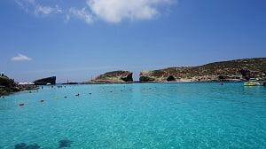 Lagoa Azul, Ilha de Comino - Pixabay