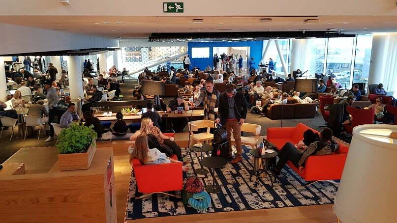 Sala Vip da KLM em Amsterdam, Holanda - Acesso com Smiles_2