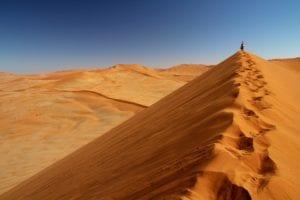 Dunas de Areia no Parque Sossusvlei - Viagem Para África- Foto Pixabay