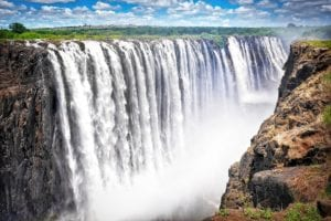 Victoria Falls no Zimababue - Viagem Para África- Foto Pixabay