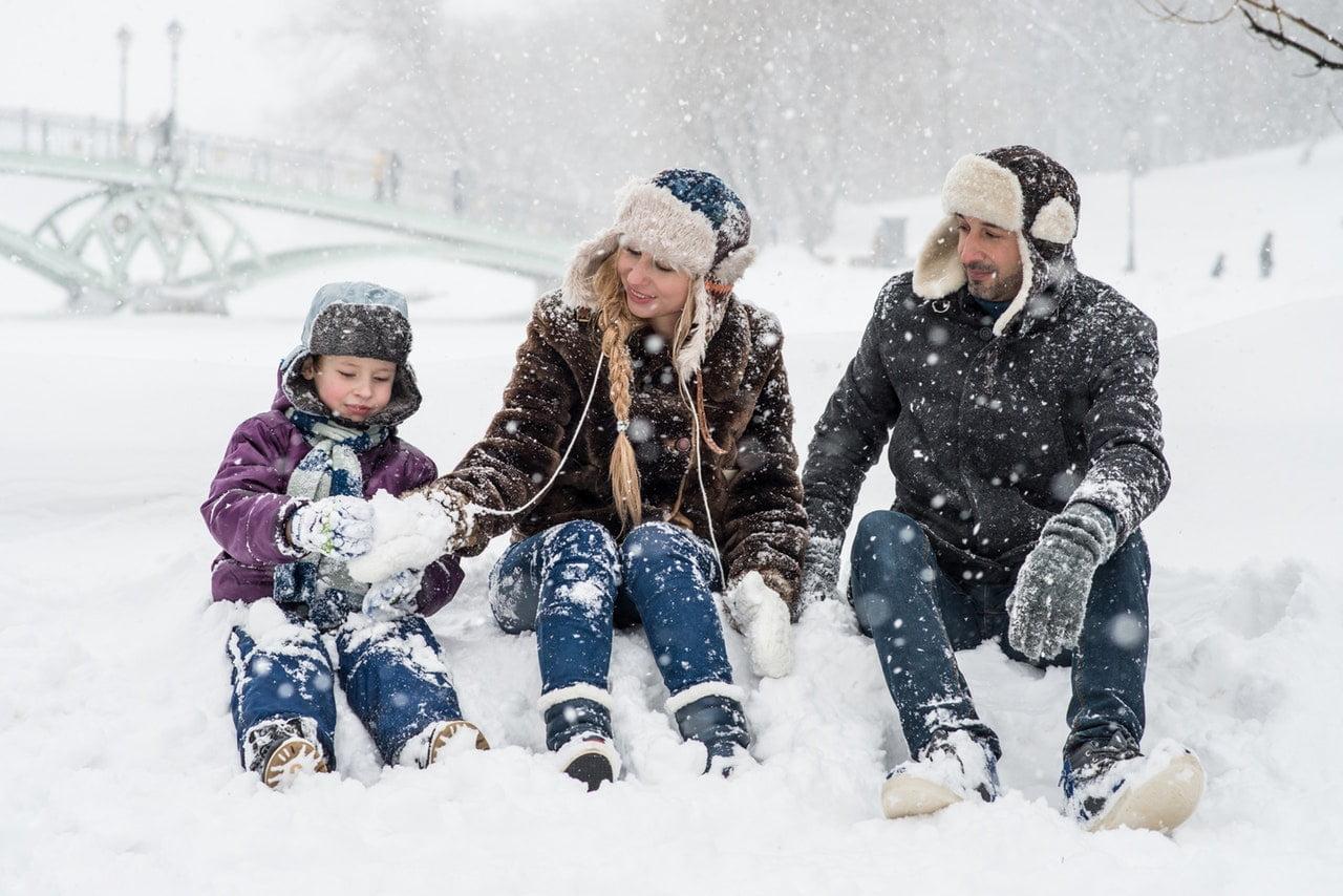 Intercâmbio em Família no Inverno - Foto Pexels