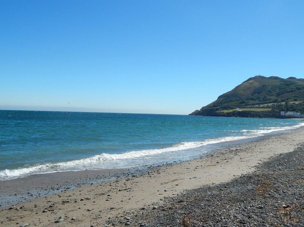 Vista da praia de Bray, Irlanda - Foto Pixabay