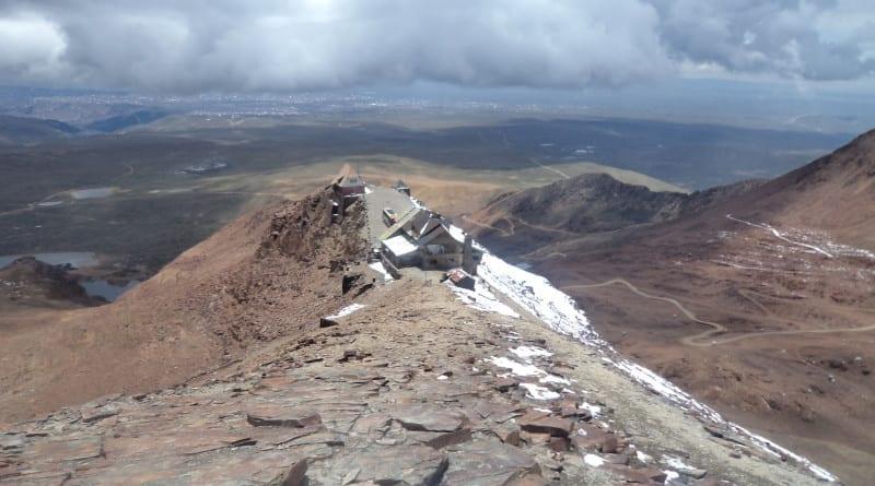 Monte Chacaltaya, próximo a La Paz. Bolívia