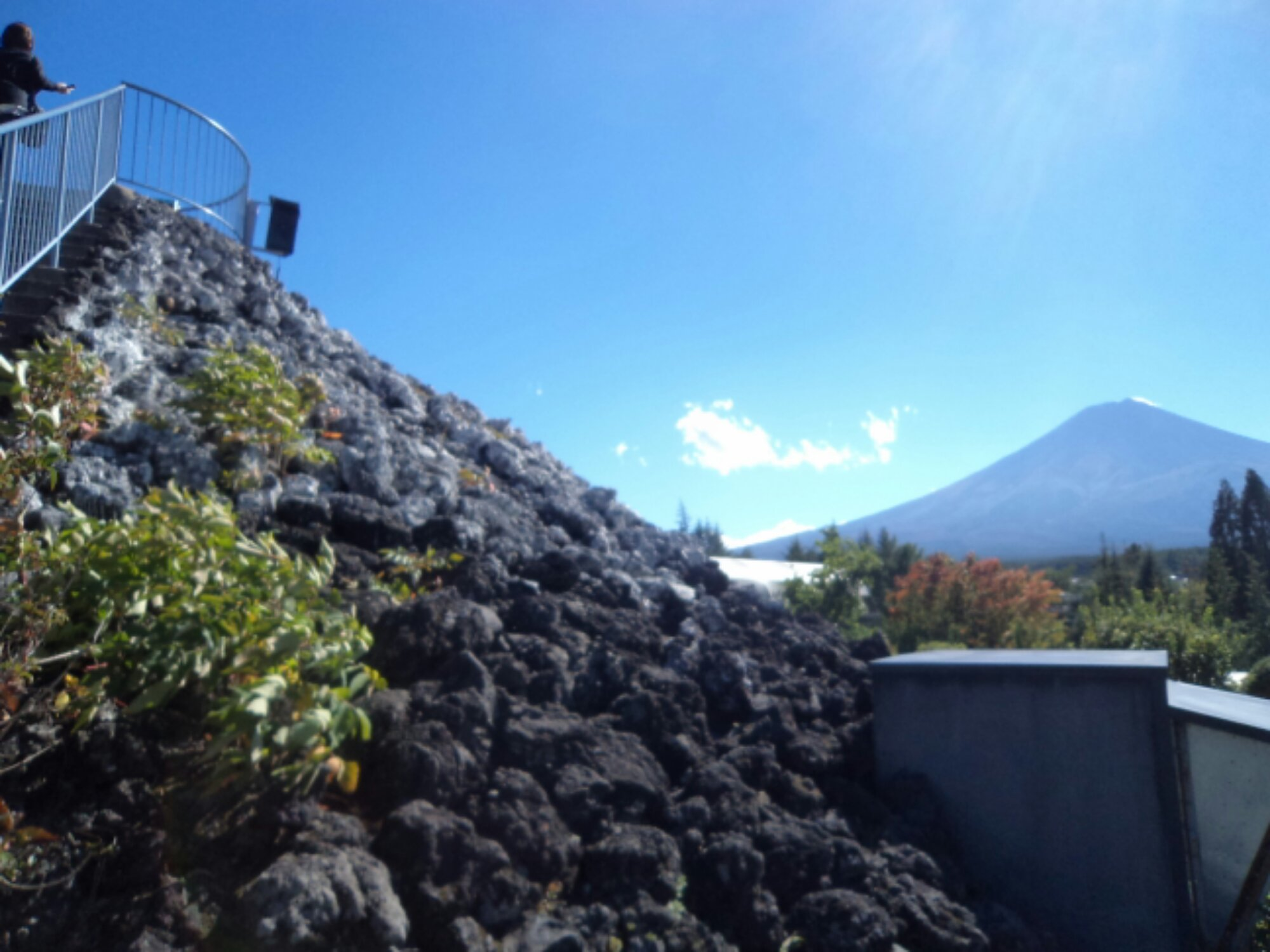 Fujisan visto do mirante do Fuji-Q