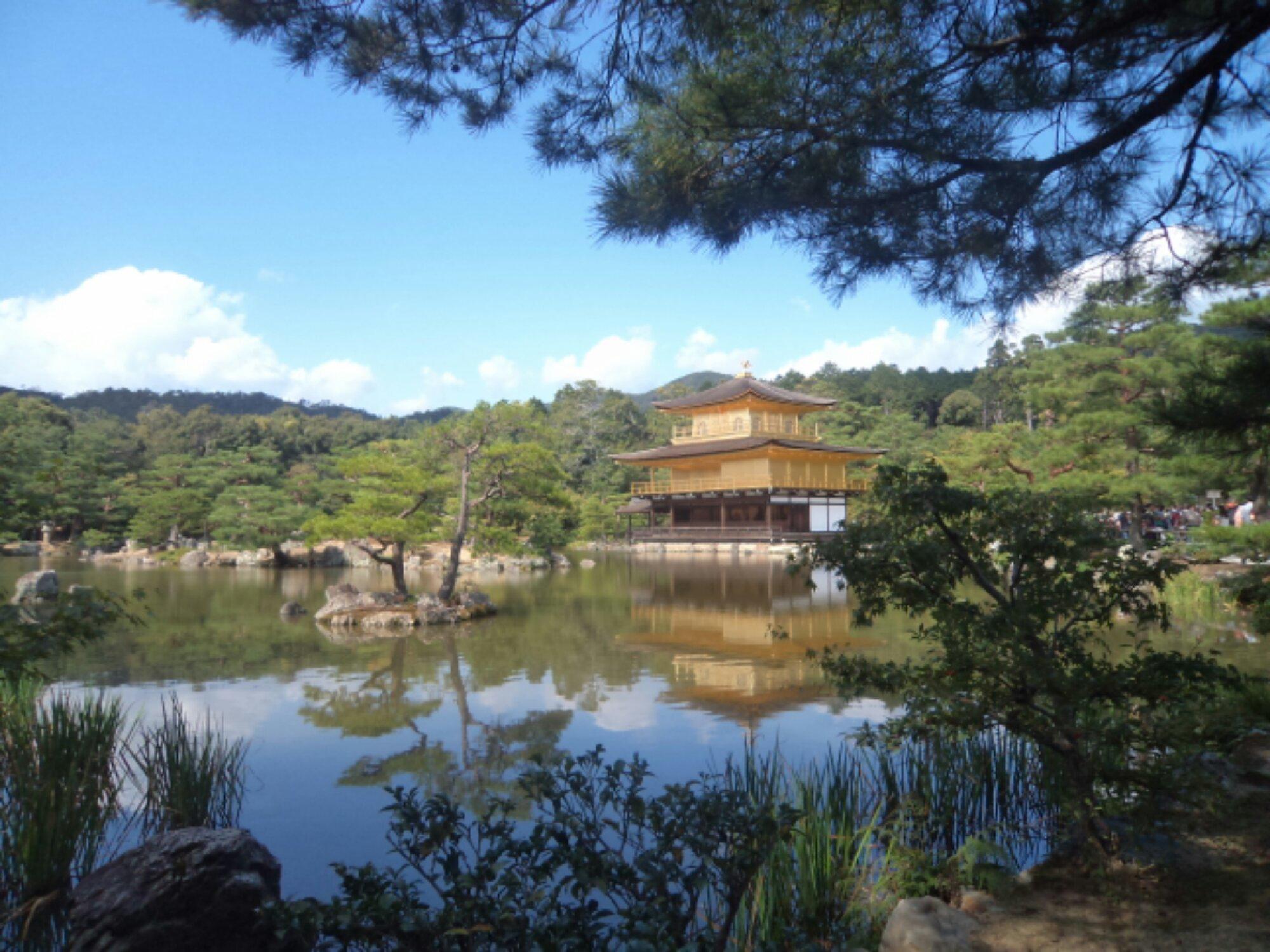 Kinkakuji em Kyoto, Japão