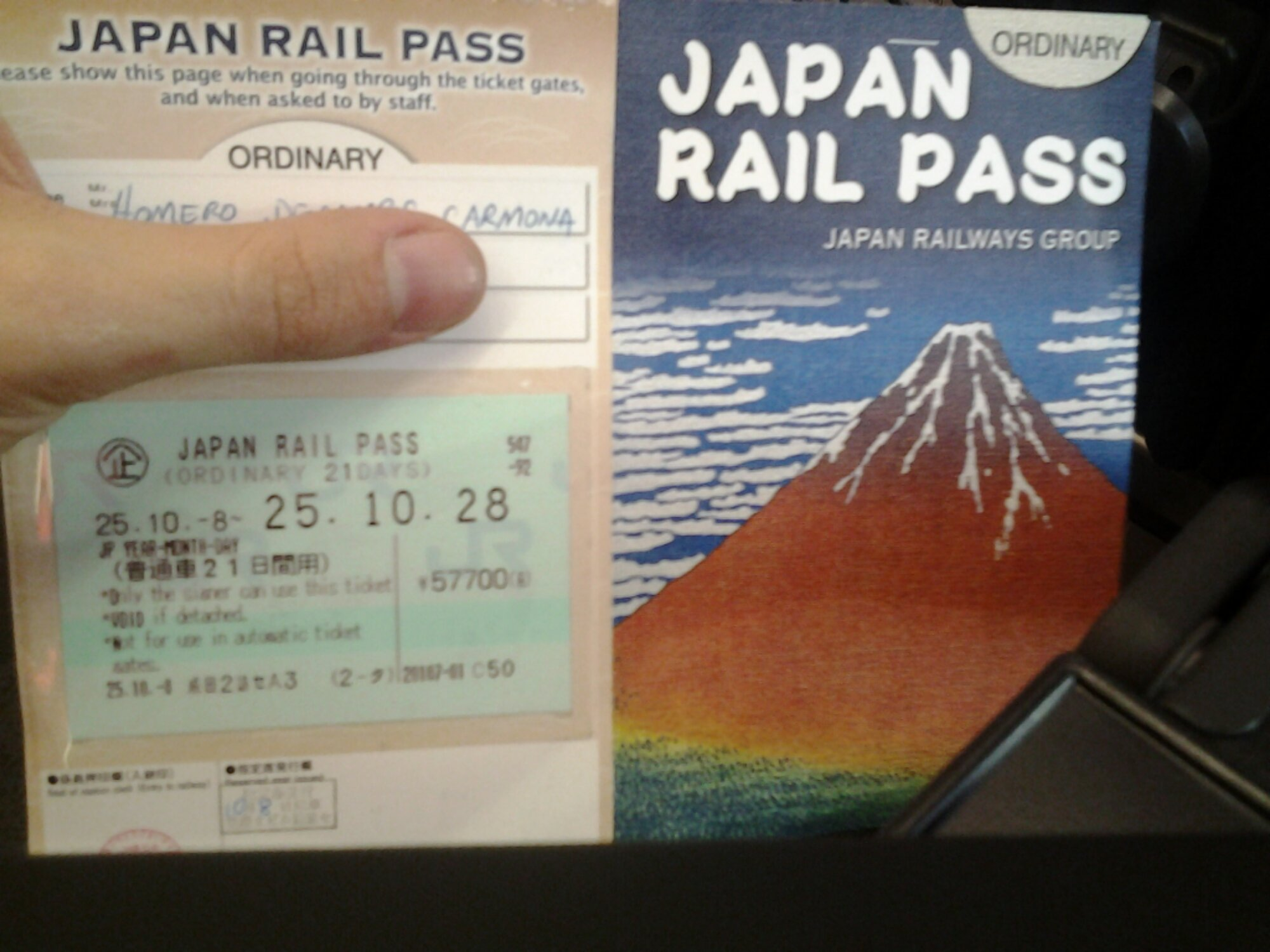 JR Pass - Japan Rail Pass