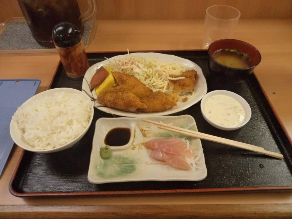 Prato Típico Japonês