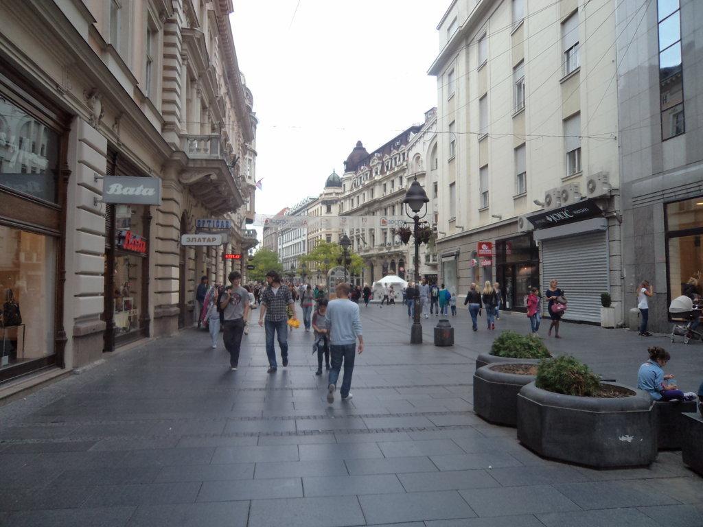Rua Kneza Mihaila, centro de Belgrado, Sérvia