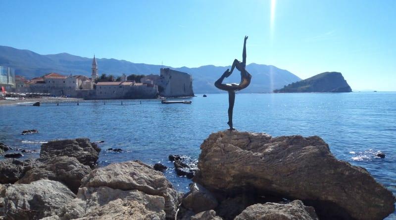 A Bailarina de Budva, Montenegro