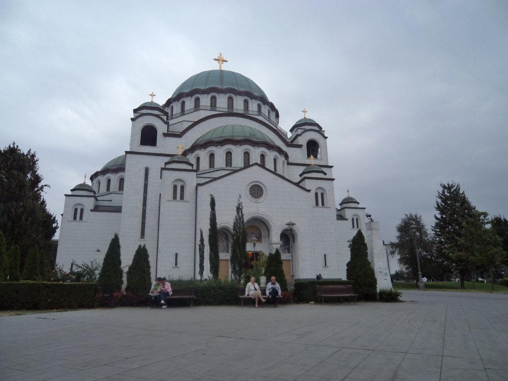 Catedral de St Sava, enorme e imcompleta - Belgrado, Sérvia