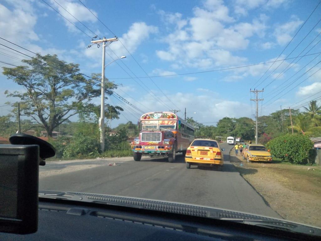 Estrada para Portobelo, Panamá