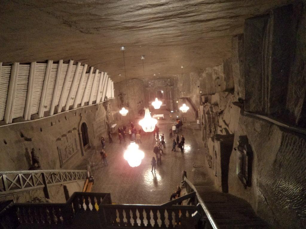 Catedral subterrânea na mina de sal de Wieliczka, Polônia
