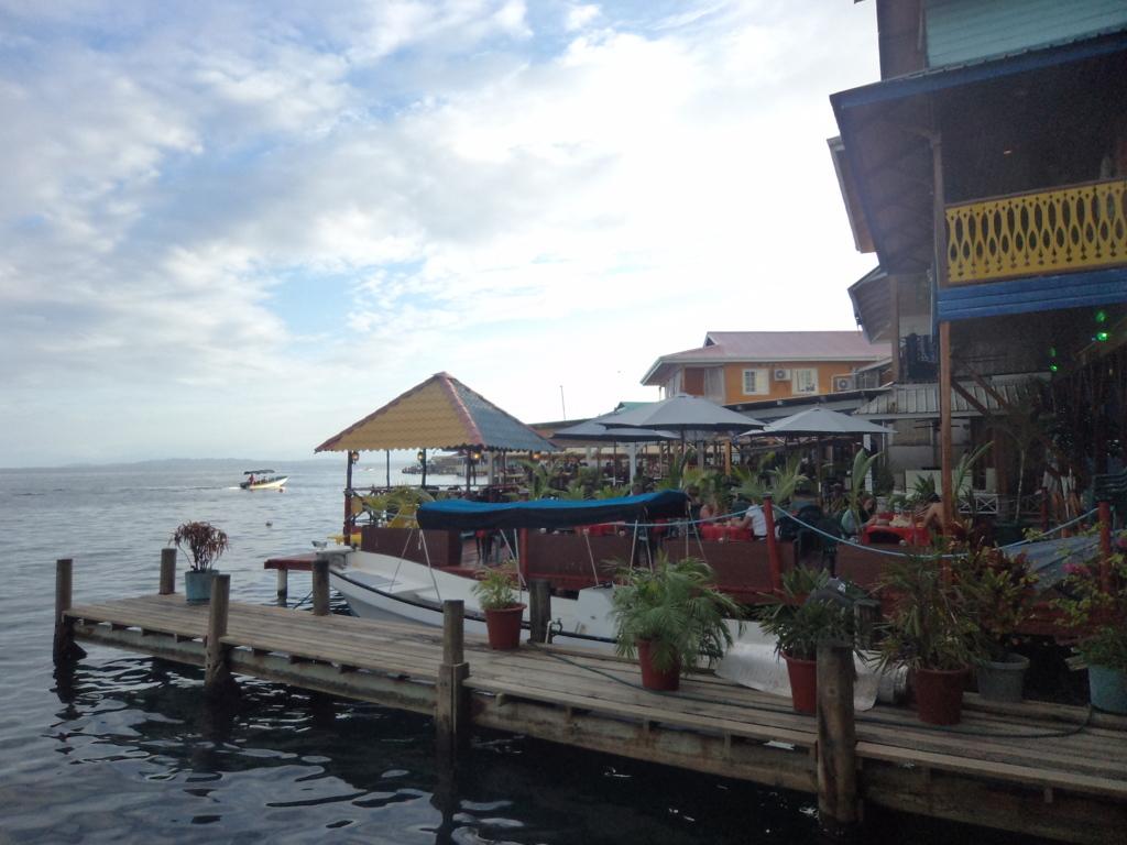 Restaurantes em Palafitas de Bocas del Toro - Panamá