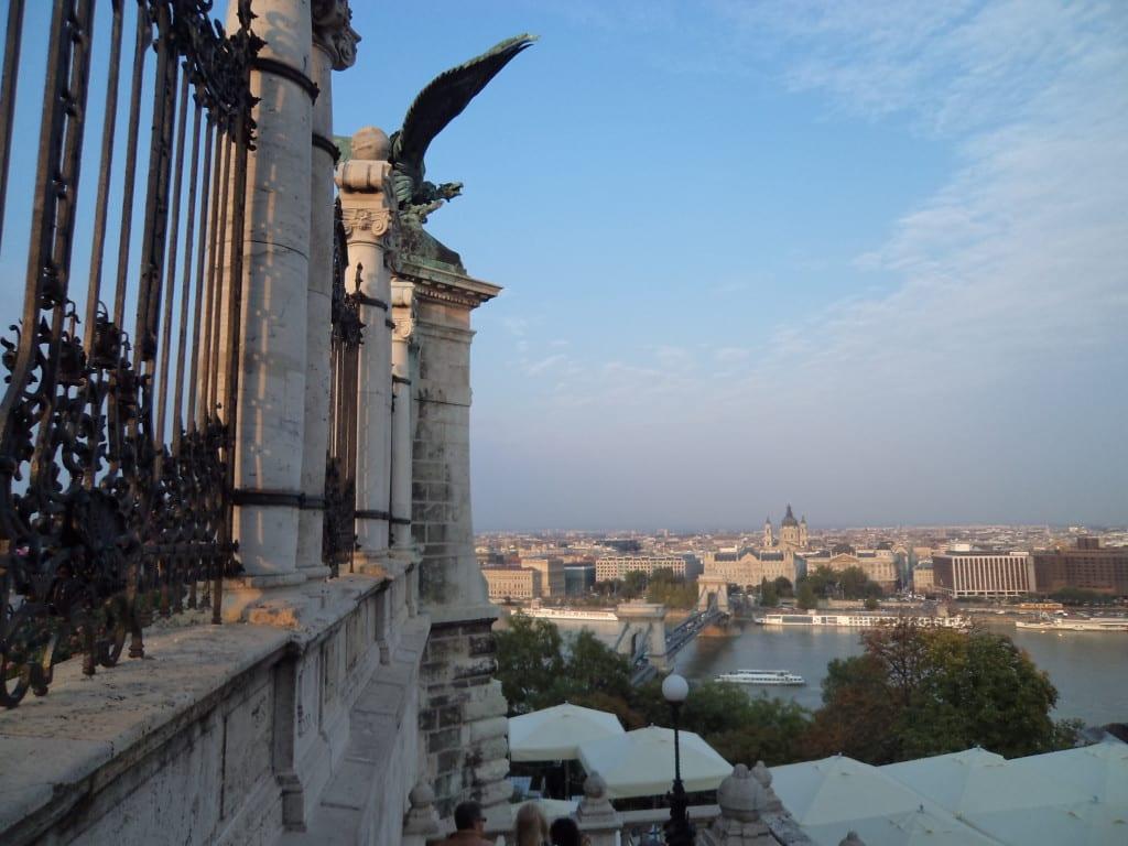A ponte que une Buda e Peste, Hungria