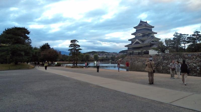 Castelo de Matsumoto, região de Nagano, Japão