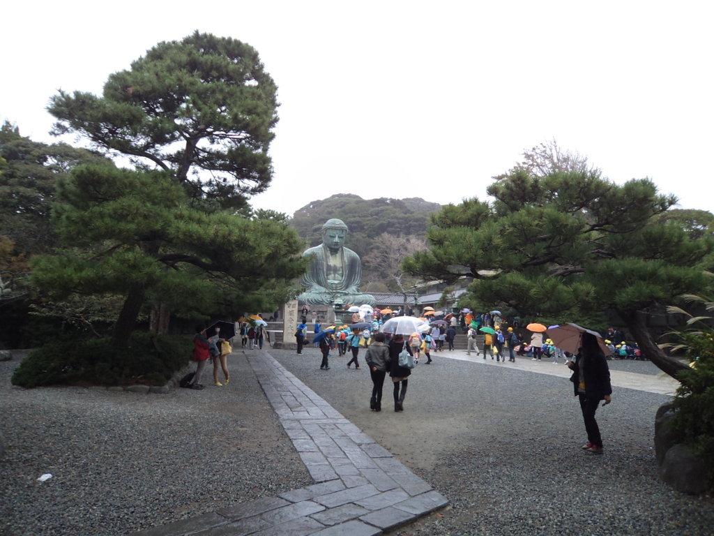 Daibutsu no templo Kotokuin em Nara, Japão