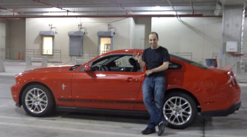Não tinha mais o Yaris que reservei e me ofereceram um Mustang - Acho que aceitei