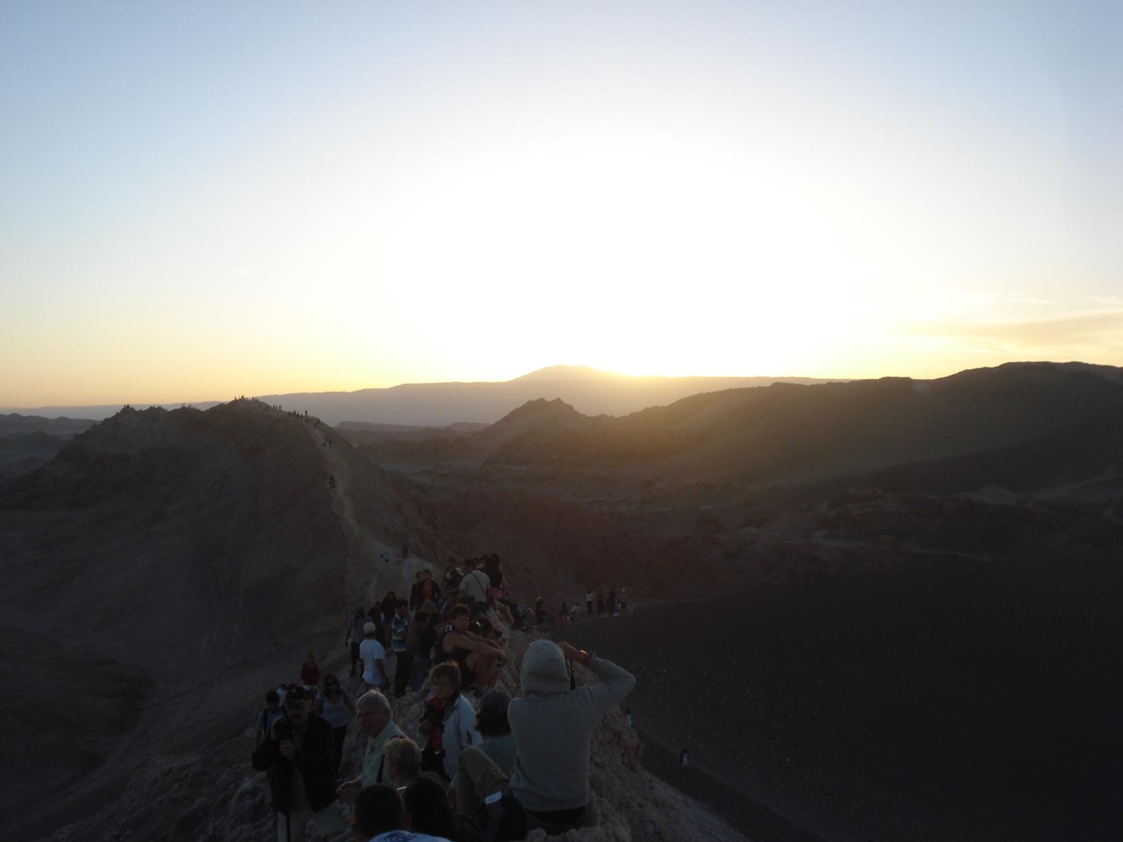Por do Sol no Valle de la Luna, San Pedro de Atacama, Chile 1