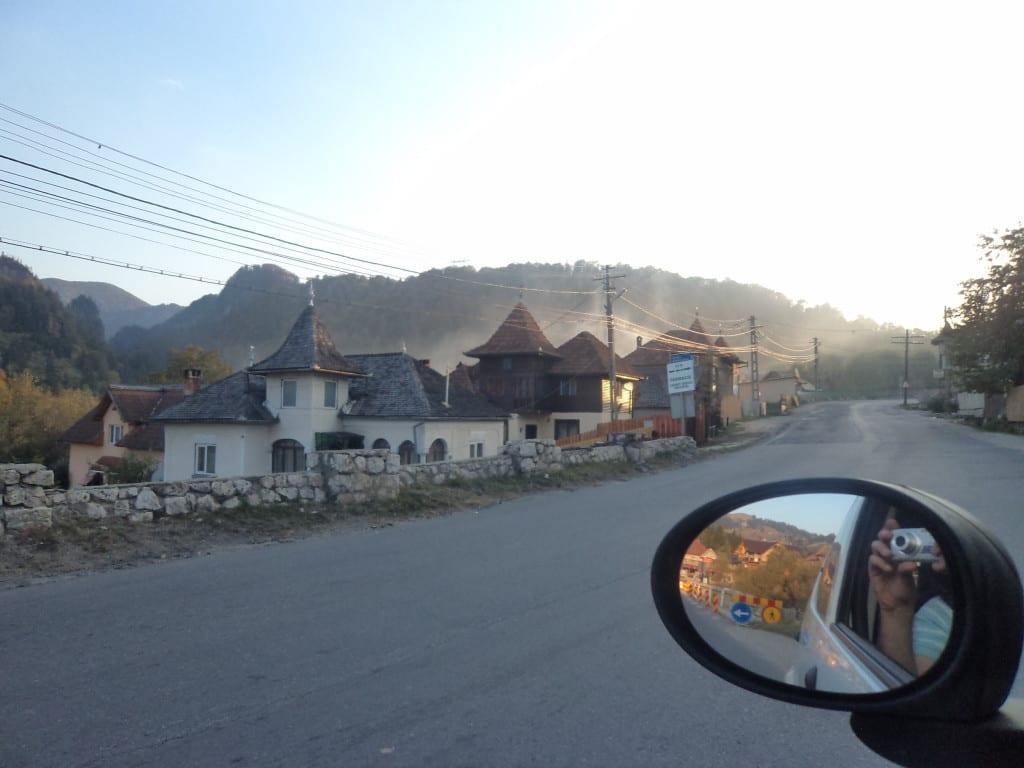 Paisagem nas estradas da Romênia 1