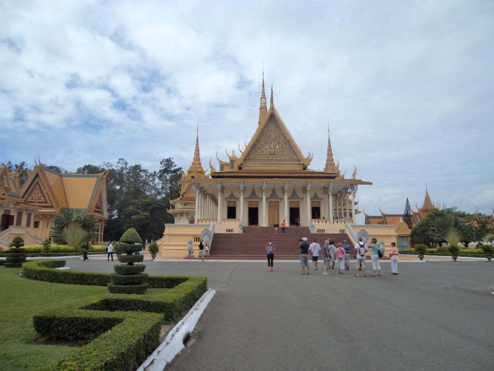 Palácio Real em Phnom Penh, Camboja