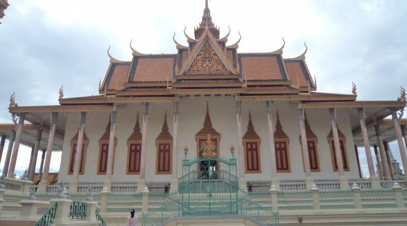 Silver Pagoda em Phnom Penh, Camboja