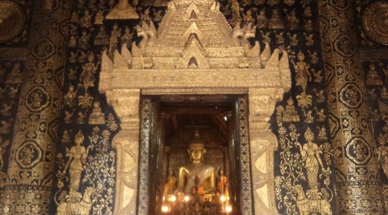 Lindíssimo Wat Xieng Thong em Luang Prabang, Laos