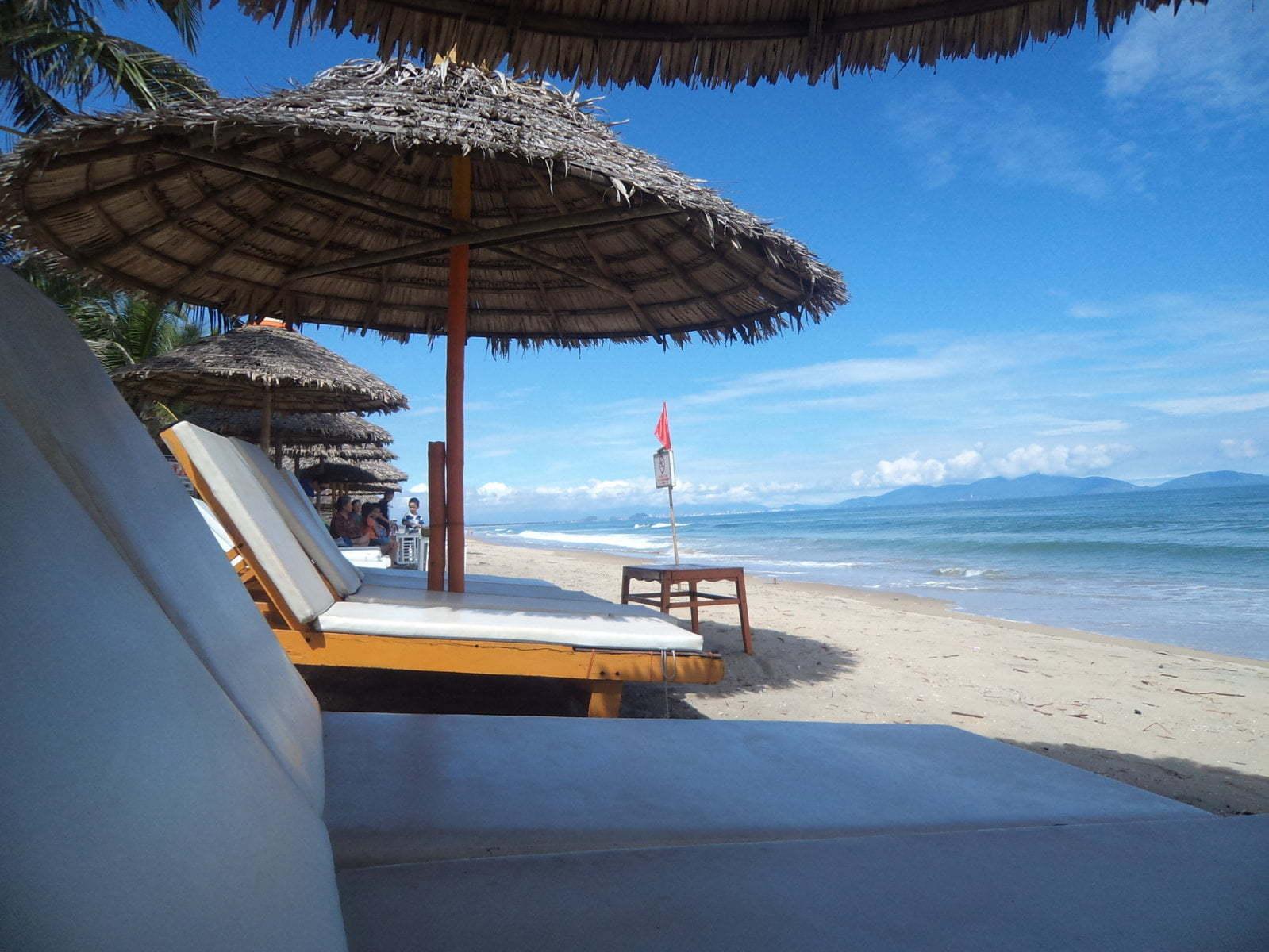 Cua Dai beach em Hoi An, Vietnã