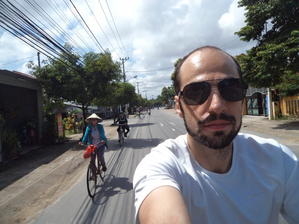 Andando de Bike em Hoi An, Vietnã