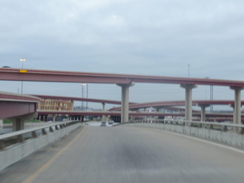 Rodovia e pontes no Texas, EUA