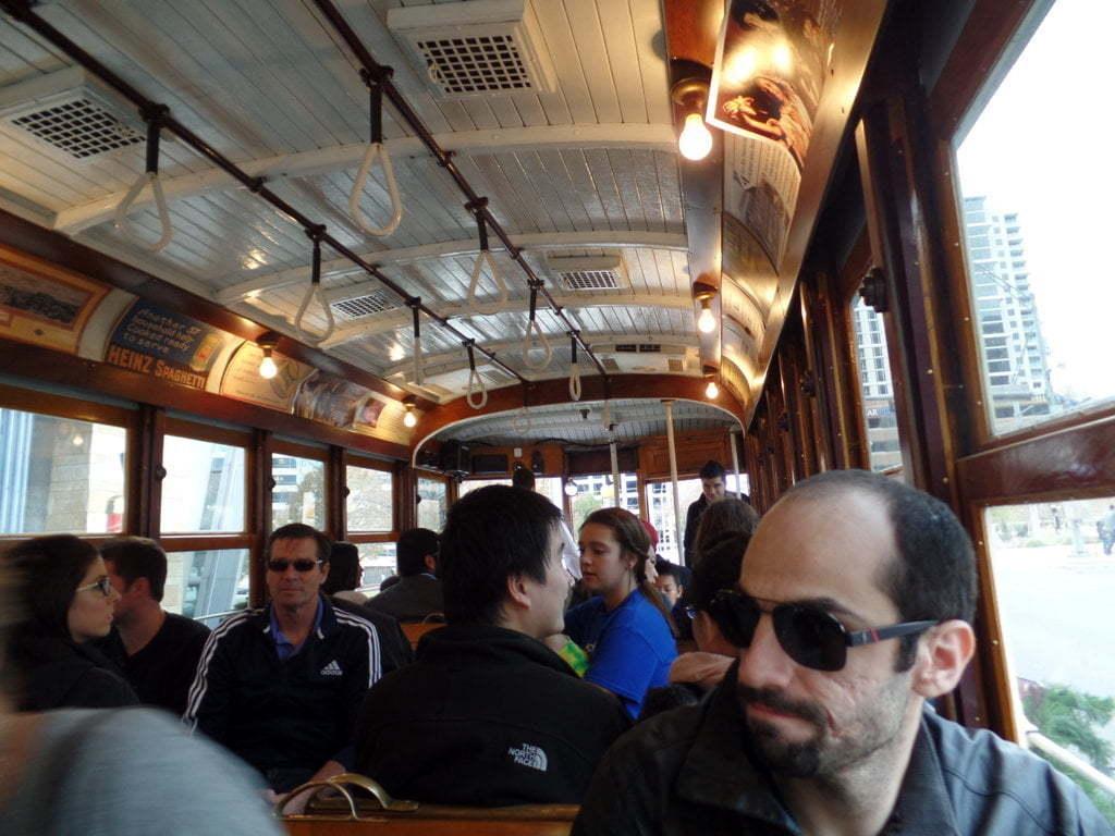 08 - Históricos McKinney trolleys, gratuitos - Dallas, EUA