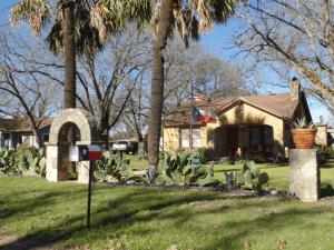 Casa no interior do Texas, Estados Unidos