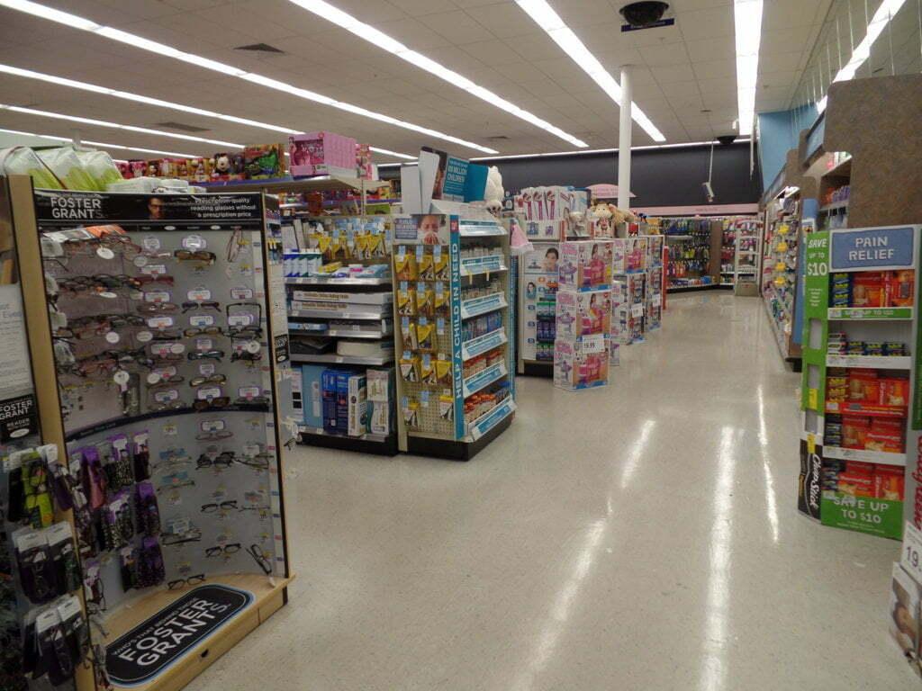 Finalmente algumas coisas de farmácia no Walgreens, EUA