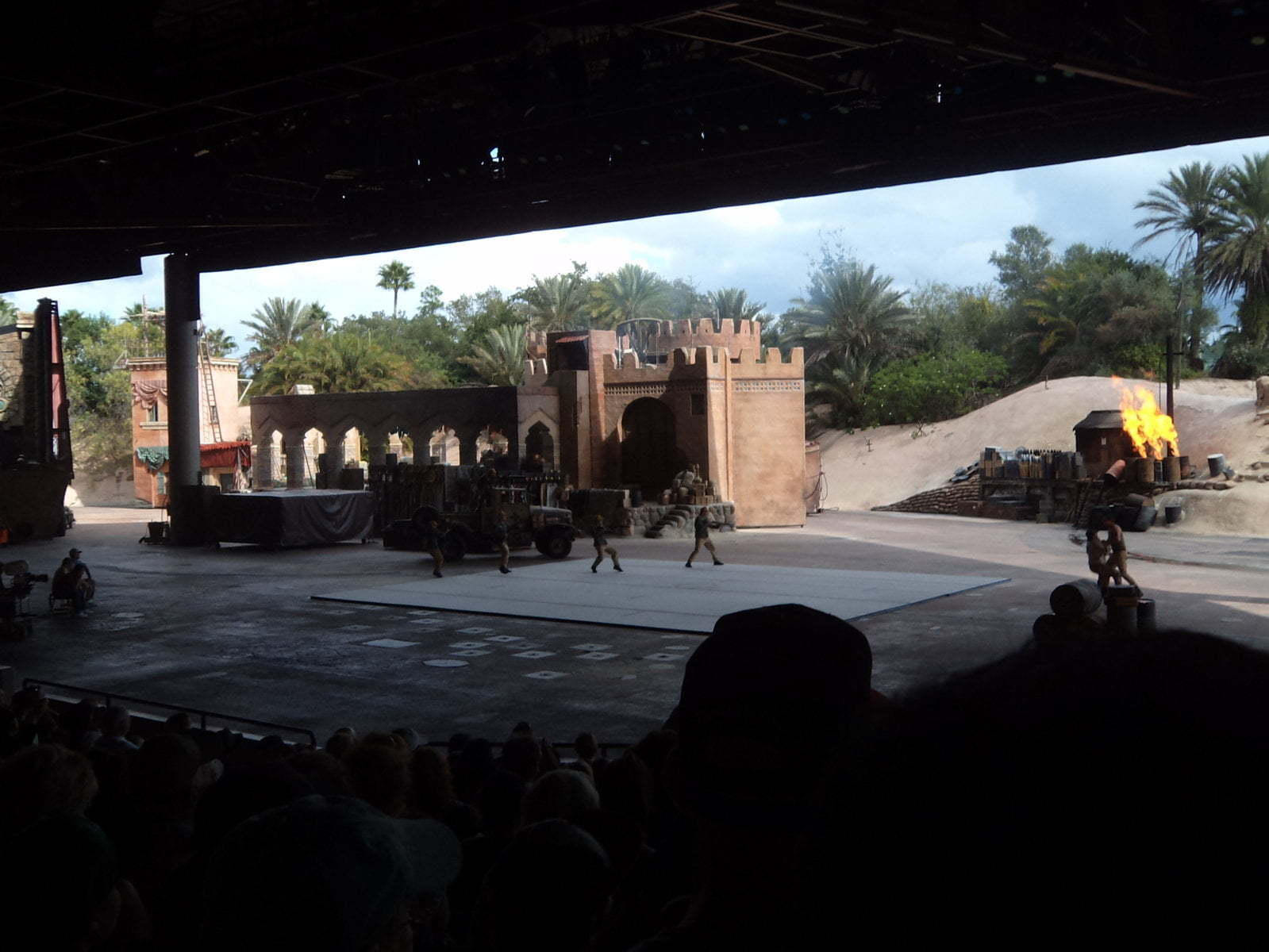 Stunt Show no Hollywood Studios da Disney - Orlando, EUA