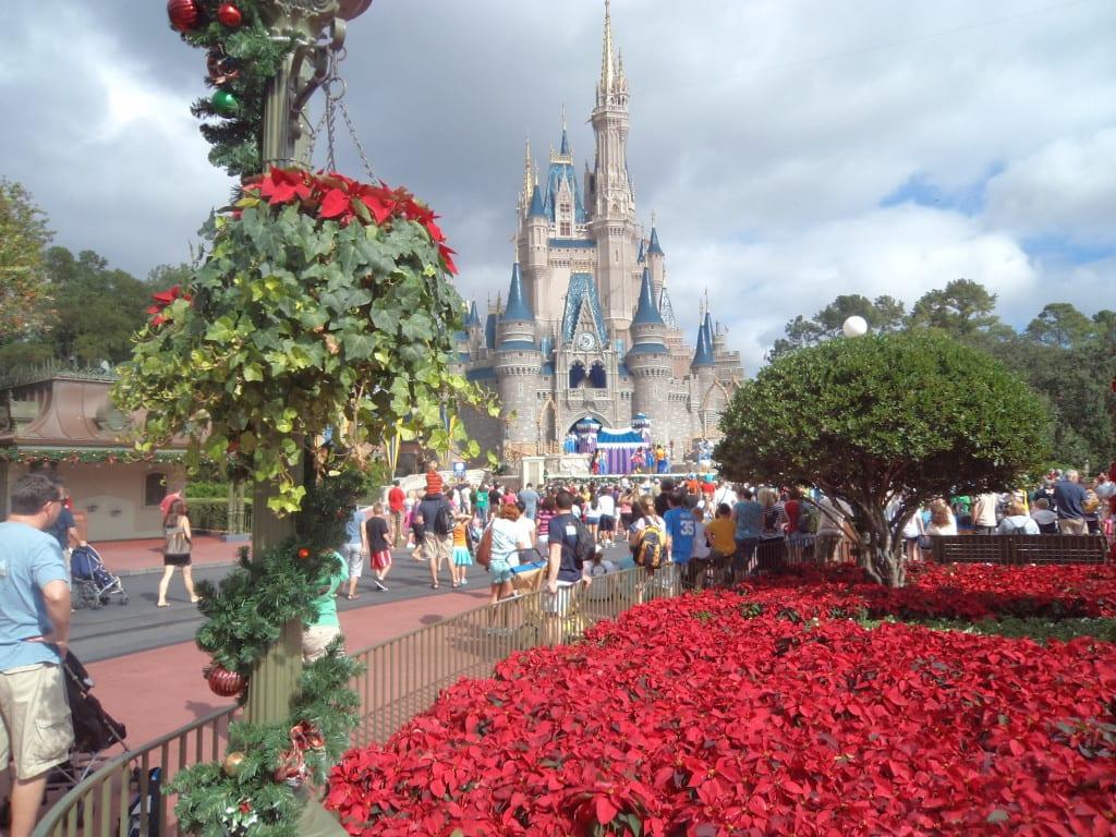 O famoso castelo da Princesa no Magic Kingdom da Disney - Orlando, EUA