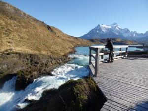 Salto Chico em Torres del Paine, Patagonia, Chile