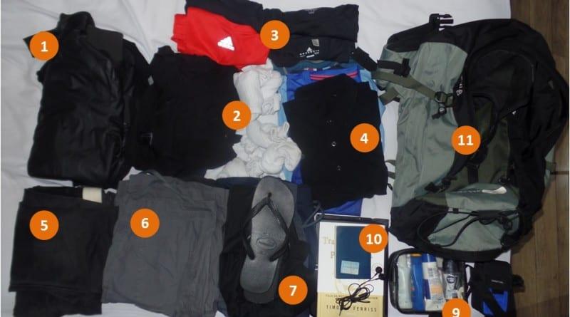 Arrumando as Malas - Separando roupa para 10 dias- num