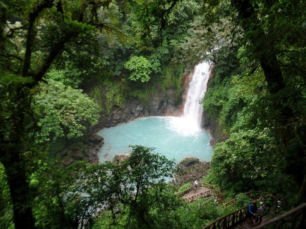 Cascata no Rio Celeste, Vulcão Tenório-Costa Rica