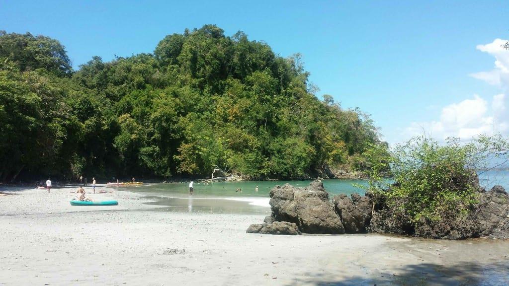 Playa Biesans em Quepos, Costa Rica