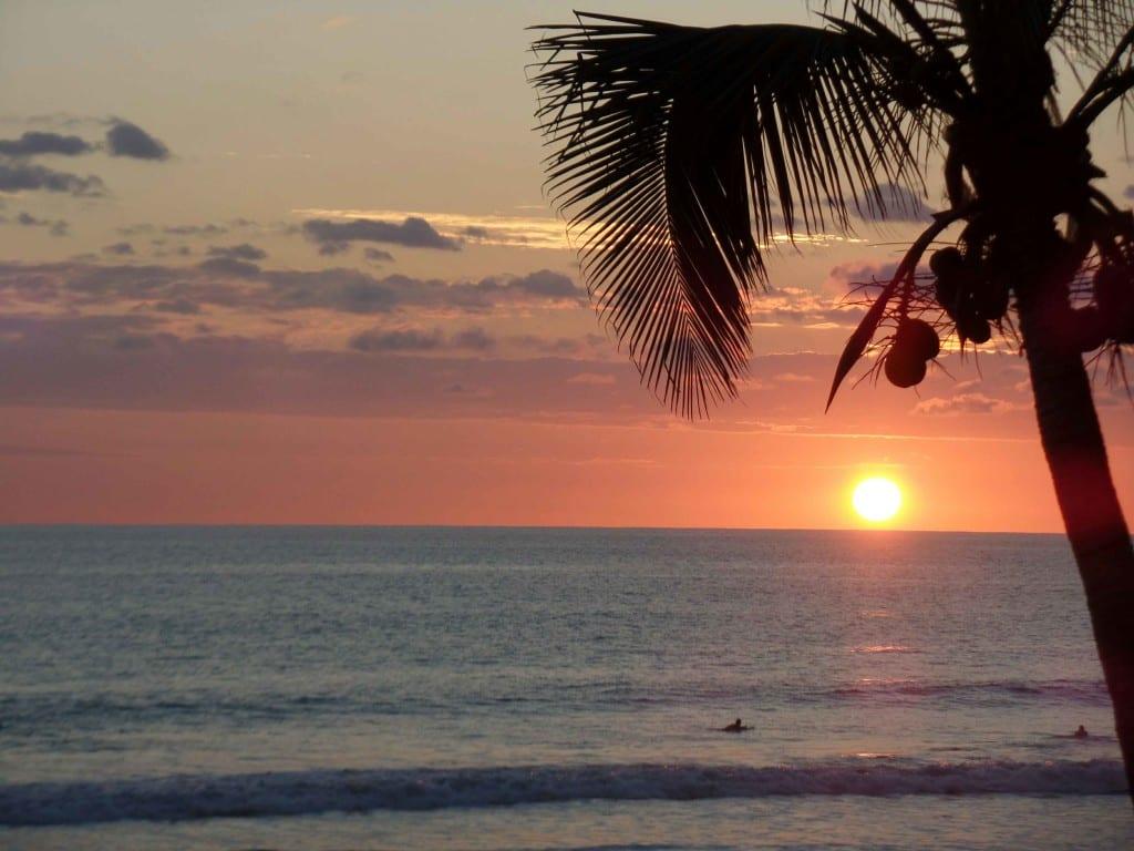 Por do sol em Playa Hermosa - Jacó, Costa Rica