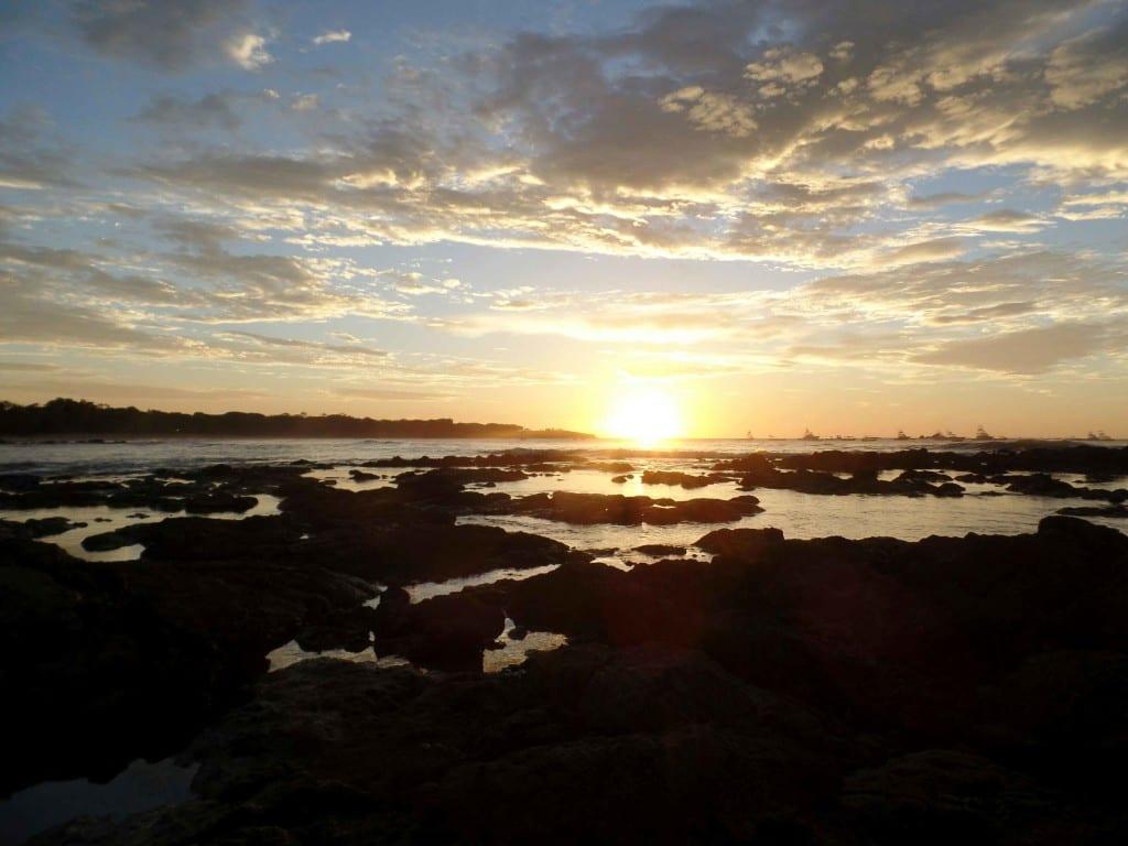 Por do sol em Tamarindo - Costa Rica