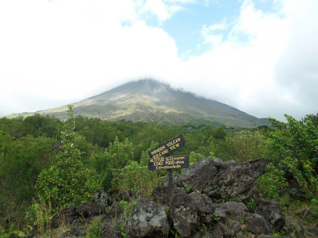 Vista do Vulcão Arenal - Costa Rica